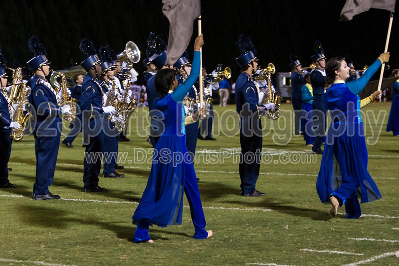 Mt Tabor and Carver Bands<br /> Mt Tabor Spartans vs Carver Yellow Jackets Varsity Football Game<br /> Friday, September 06, 2013 at Mt Tabor High School<br /> Winston-Salem, North Carolina<br /> (file 205109_803Q5079_1D3)