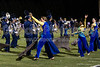 Mt Tabor and Carver Bands<br /> Mt Tabor Spartans vs Carver Yellow Jackets Varsity Football Game<br /> Friday, September 06, 2013 at Mt Tabor High School<br /> Winston-Salem, North Carolina<br /> (file 205107_803Q5078_1D3)