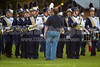 Mt Tabor and Carver Bands<br /> Mt Tabor Spartans vs Carver Yellow Jackets Varsity Football Game<br /> Friday, September 06, 2013 at Mt Tabor High School<br /> Winston-Salem, North Carolina<br /> (file 191032_BV0H5189_1D4)