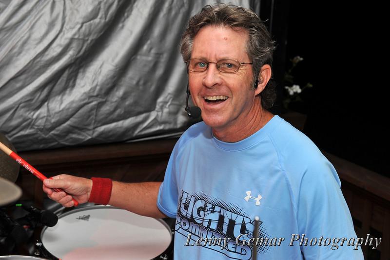 Jim Henderson on Drums