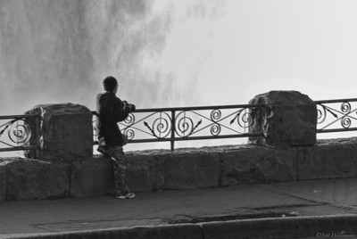 Photographer By The Falls