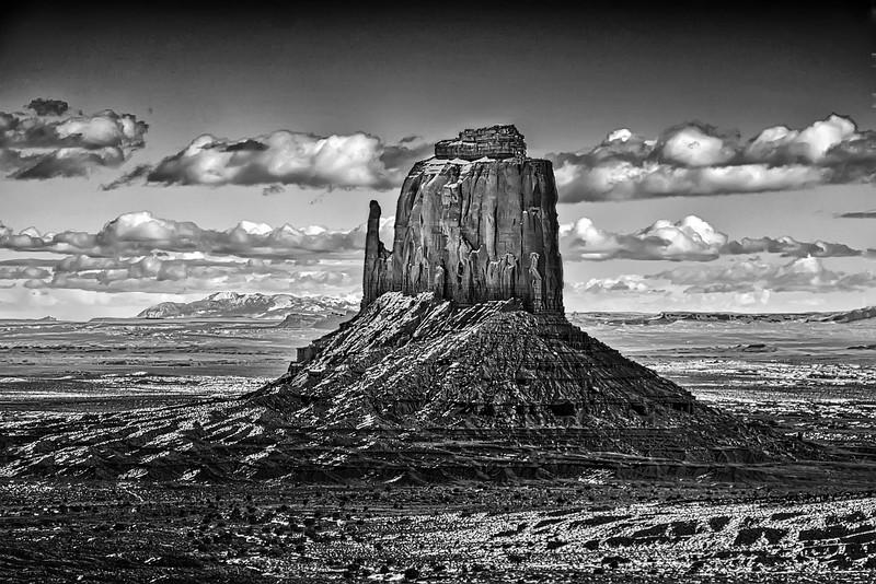 East Mitten Butte, Monument Valley, AZ, USA