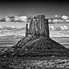 East Mitten Butte, Monument Valley, AZ, USA