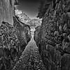 Street in Ollantaytambo, Sacred Valley, Peru