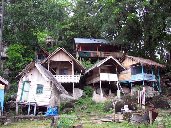 Traditional Sumatra Bungalow