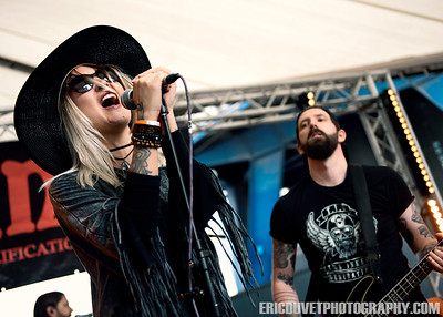 Fire Red Empress at Stone Free Festival.