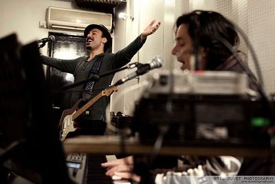 Blurred Vision Rehearsal John Lennon gig.