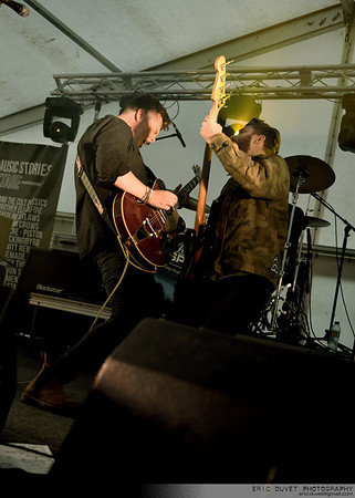 Broken Witt Rebels at Wildfire Festival on Great Music Stories Stage