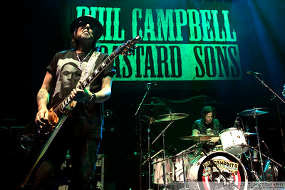 Phil Campbell And The Bastard Sons at Eventim Apollo.