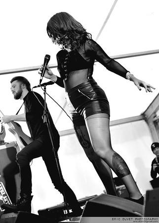 Skarlett Riott at the Wildfire Festival 2017.
