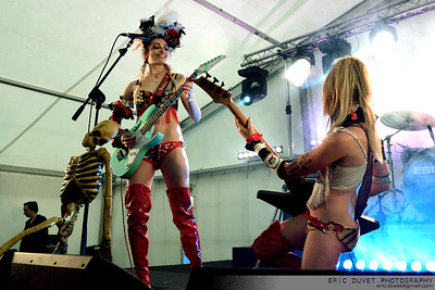 The Soap Girls at The Wildfire Festival 2017.
