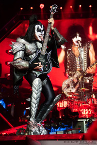 Kiss at The O2.
