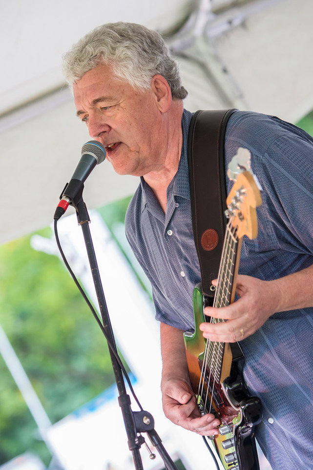 Larry Wiegand--Lisa Wenger and the Mean Mean Men- Madelia Blues Fest 2014