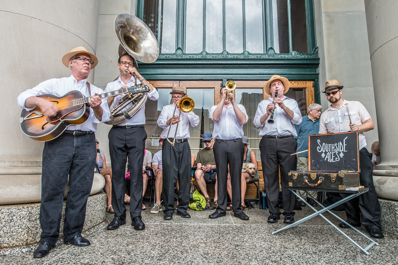 The Southside Aces--2014 Twin Cities Jazz Festival