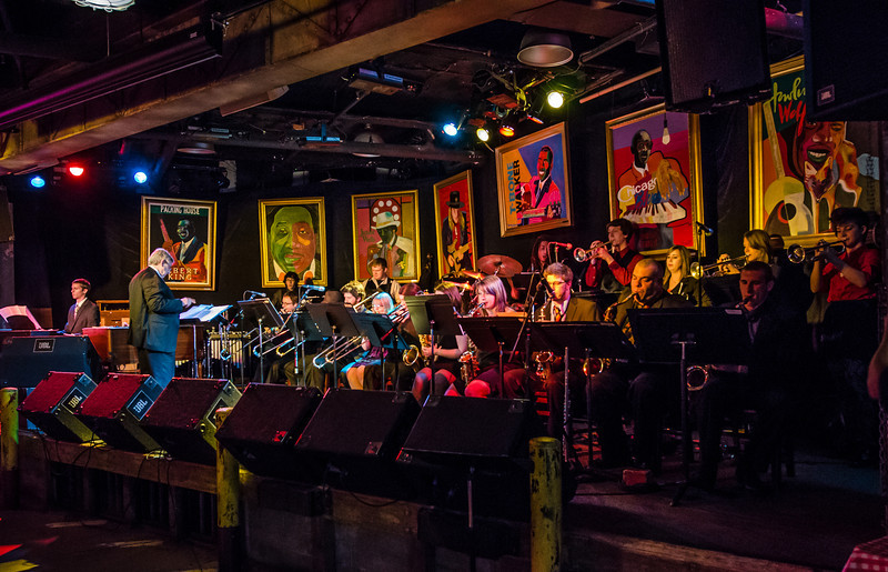 Augsburg College Jazz Band--Famous Daves Uptown--May 2012