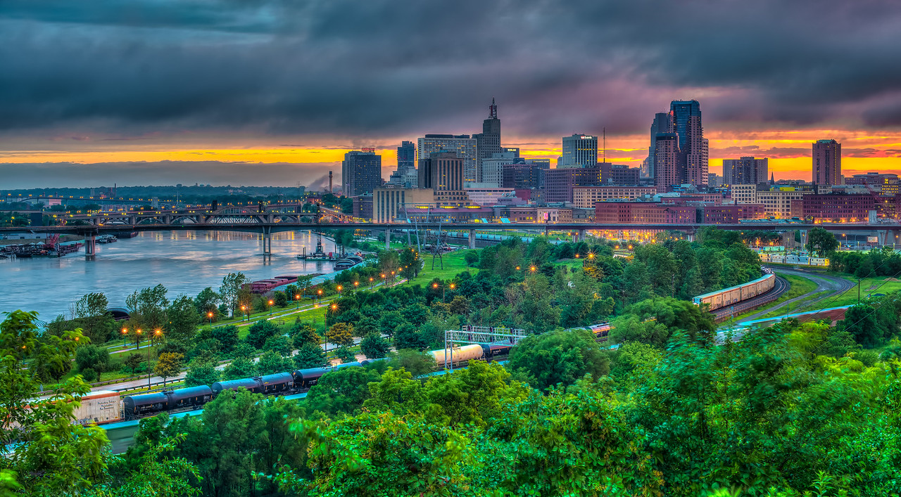 After the storm-2014 Twin Cities Jazz Festival