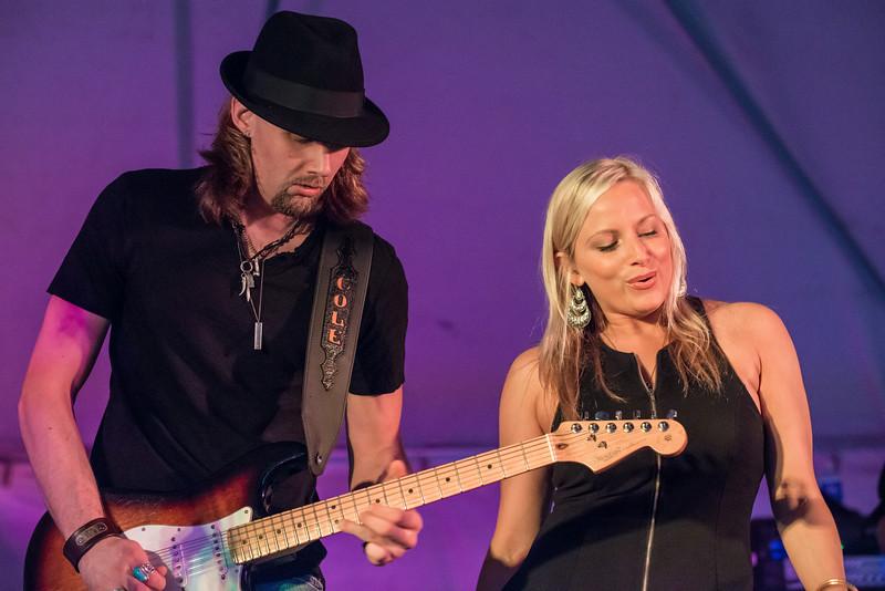 Cole Allen and Sena-Sena Erhardt Band-Madelia Blues Fest 2014