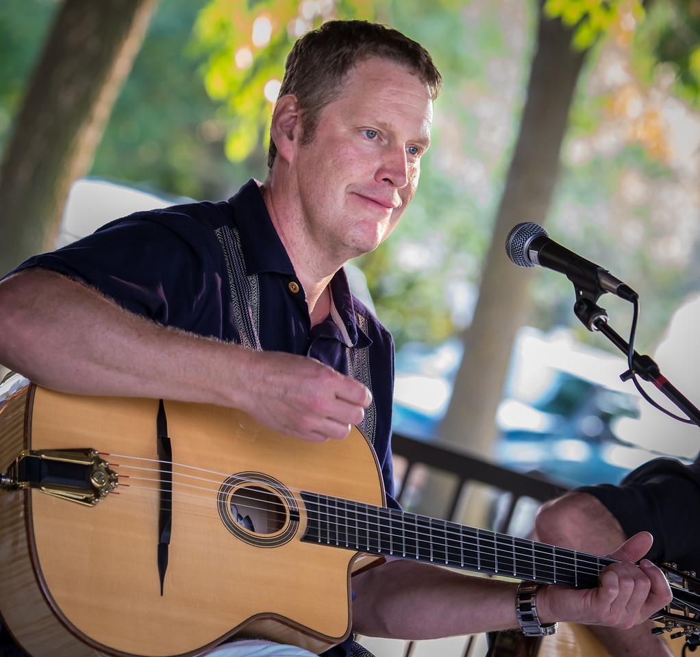 Glen Helgeson-Gypsy Mania-Delano Music in the Park 2014.
