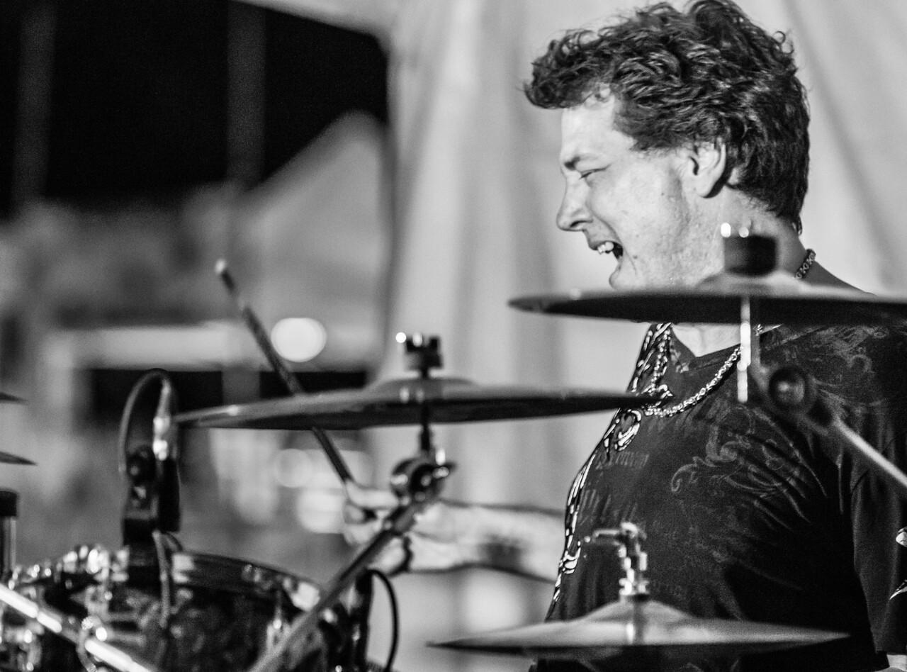 Paul Peterson-Sena Erhardt Band-Madelia Blues Fest 2014