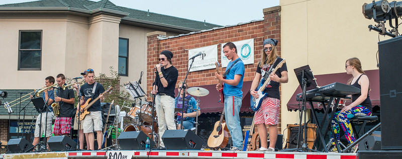 The Young Funks-Watertown Rails to Trails 2014