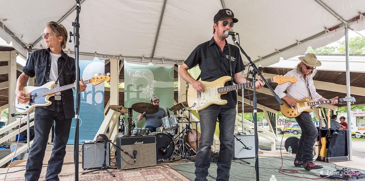 --Erik Koskinen Band--2017 Rock Bend Folk Festival-St. Peter, MN.