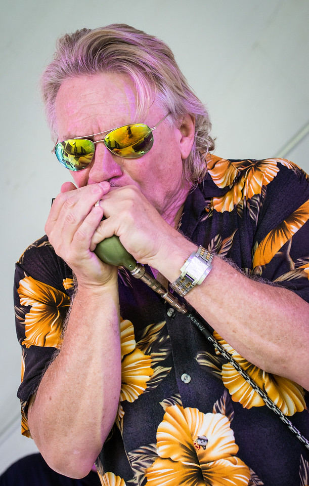 Steve Vonderharr-Boom Boom Stevie Vonderharr and the Knockouts- Madelia Blues Fest 2014
