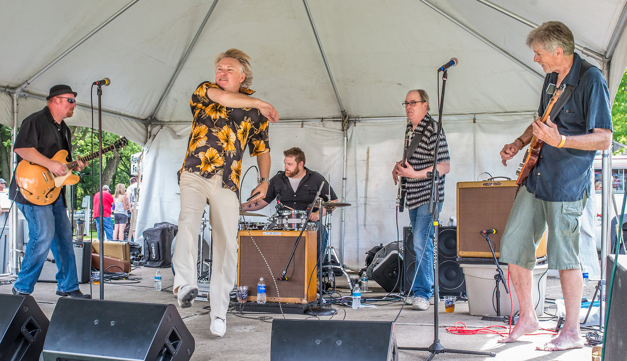 -Boom Boom Stevie Vonderharr and the Knockouts- Madelia Blues Fest 2014