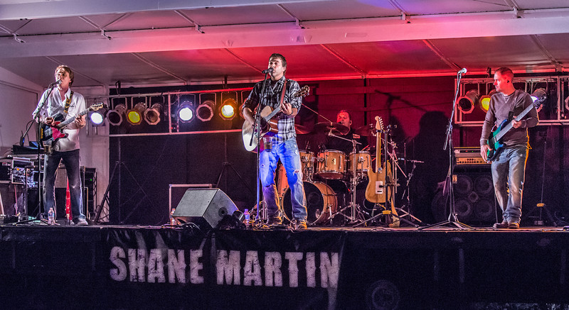 Shane Martin Band--Heritage Fest 2013- Independence, MN
