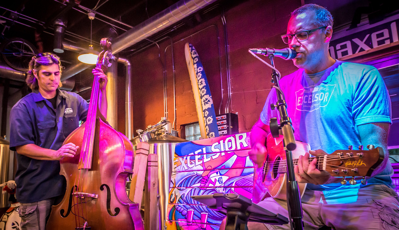 John Klick and Paul Diethelm (1st cousins) Excelsior Brewery Aug 6 2014