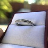 1.20ctw French Cut Eternity Band 18