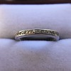 1.20ctw French Cut Eternity Band 19