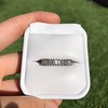 1.25ctw Baguette Eternity Band, in Platinum 5
