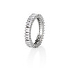 1.25ctw Baguette Eternity Band, in Platinum 1
