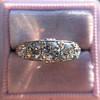 1.70ctw Edwardian 5-stone Old European Cut Diamond Band 8