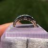 1.70ctw Edwardian 5-stone Old European Cut Diamond Band 15
