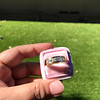 1.85ctw Vintage Emerald Cut Diamond Band 6