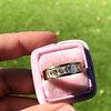 1.85ctw Vintage Emerald Cut Diamond Band 2