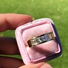1.85ctw Vintage Emerald Cut Diamond Band 1