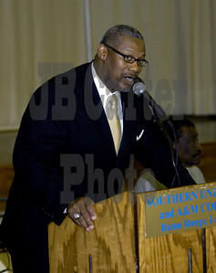 Southern University Director of Bands, Lawrence Jackson.