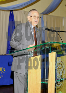 Dr. James L. Llorens, Chancellor at Southern University.