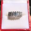 2.35ctw 7-Stone Step Cut Diamond Band 6