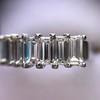 2.35ctw 7-Stone Step Cut Diamond Band 29