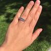 2.35ctw 7-Stone Step Cut Diamond Band 3