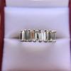 2.35ctw 7-Stone Step Cut Diamond Band 25