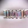 2.35ctw 7-Stone Step Cut Diamond Band 30
