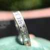 2.50ctw Vintage French Cut Diamond Eternity Band 21