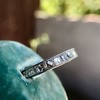 2.50ctw Vintage French Cut Diamond Eternity Band 25