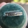 2.50ctw Vintage French Cut Diamond Eternity Band 24