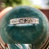 2.50ctw Vintage French Cut Diamond Eternity Band 11