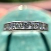 2.50ctw Vintage French Cut Diamond Eternity Band 23